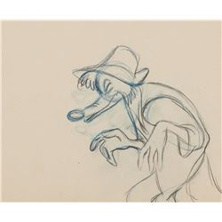 "Milt Kahl production drawing of ""Br'er Fox"" from The Song of the South."