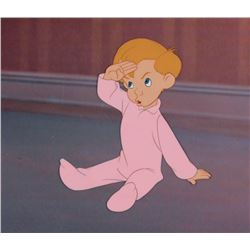 """""""Michael Darling"""" production cel from Peter Pan."""
