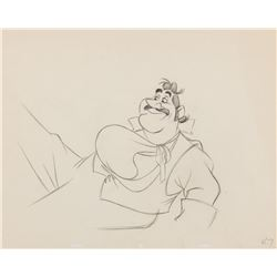 """""""George Darling"""" production drawing from Peter Pan."""
