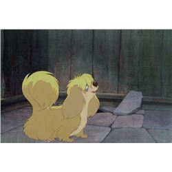 """""""Peg"""" production cel from Lady and the Tramp."""