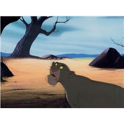 """Bagheera"" production cel from The Jungle Book."