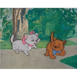 """Marie"" and ""Toulouse"" ""production cels from The Aristocats."