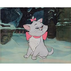 """Marie"" production cel from The Aristocats."