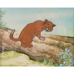 """Thomas O'Malley"" production cel from The Aristocats."