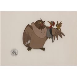 """Big Mama"", ""Dinky"" and ""Boomer"" production cel from The Fox and the Hound."
