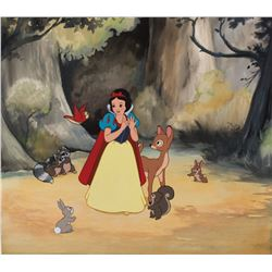 """""""Snow White"""" original painting for a Disney limited edition print by Don """"Ducky"""" Williams."""