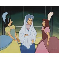 "Cinderella's ""Evil Stepmother"" & ""Stepsisters"" original painting by Don ""Ducky"" Williams."