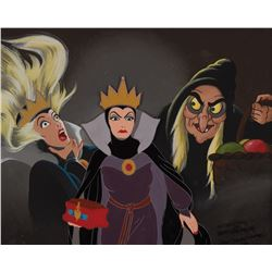 """Evil Queen"" original painting for a Disney limited edition print by Don ""Ducky"" Williams."