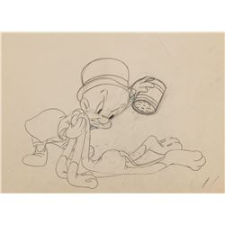 """Elmer Fudd"" production drawing from a Warner Bros. Theatrical short."