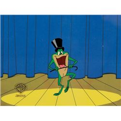"""""""Michigan J. Frog"""" production cel from a Warner Bros. theatrical short."""