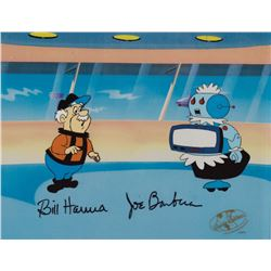 """Rosie the Robot"" and ""Henry Orbit"" production cels from The Jetsons."