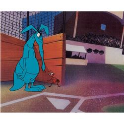 """Aardvark"" and the ""Ant"" production cels from The Ant and the Aardvark."