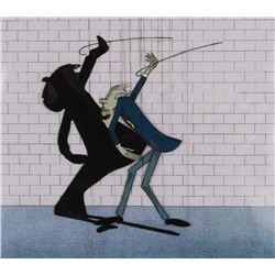 """""""School Master"""" production cel with shadow cel and matching production drawing from Pink Floyd's The"""