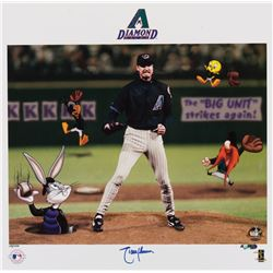 "Randy Johnson ""The Big Unit"" signed limited edition lithograph."