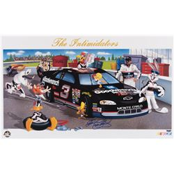 """Dale Earnhardt """"The Intimidators"""" signed limited edition lithograph."""