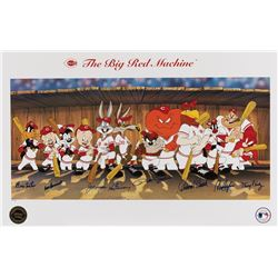 """""""The Big Red Machine"""" signed limited edition lithograph."""
