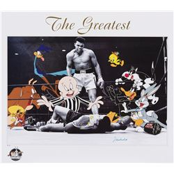 "Muhammad Ali ""The Greatest"" signed limited edition lithograph."