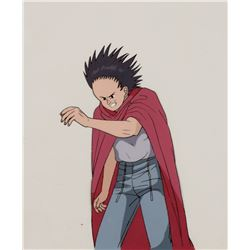 """""""Tetsuo"""" in his red cape production cel from Akira."""