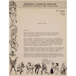 Stan Lee (4) assorted items.