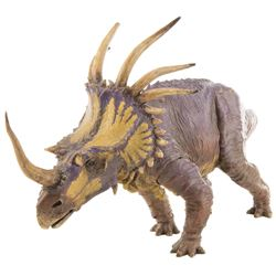 """""""Triceratops"""" maquette for Animal Kingdom's Dinosaur attraction."""