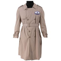 Disneyland cast member trench coat.