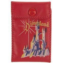 Disneyland childrens red wallet.