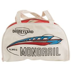 Disneyland children's Monorail purse.