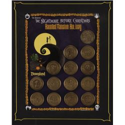 The Haunted Mansion Holiday The Nightmare Before Christmas 14 coin set.