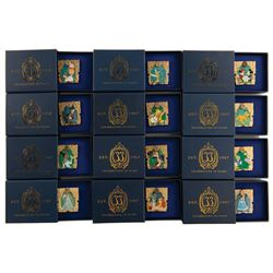 (12) limited edition Club 33 pins for the 50th Anniversary.