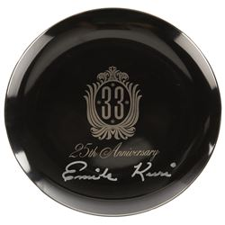 Club 33 Limited Edition plate 25th Anniversary.