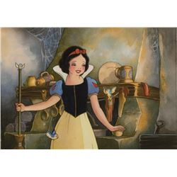 "Toby Bluth signed limited edition giclée featuring ""Snow White""."