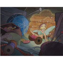 """Toby Bluth signed limited edition giclée featuring """"Tinker Bell""""."""
