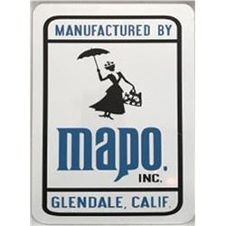 "Disney Imagineers ""Mapo"" sign."
