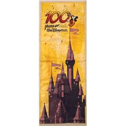 """100 Years of Magic"" banner from Walt Disney World."
