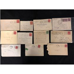 1905-1929 CANADA LETTER'S & FIRST DAY COVERS LOT