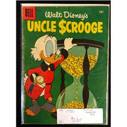 1955 UNCLE SCROOGE #12 (DELL COMICS)