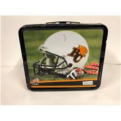 VINTAGE BC LIONS (CFL) TIN LUNCH BOX
