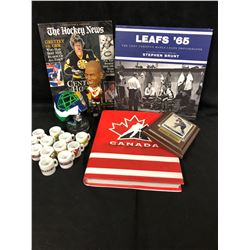 HOCKEY FAN SOUVENIR LOT