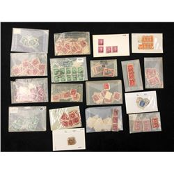 VINTAGE CANADIAN STAMPS LOT (VARIOUS YEARS)