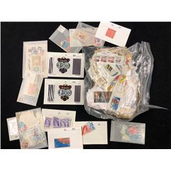 WORLDWIDE STAMP LOT (USED & UNUSED) VARIOUS YEARS