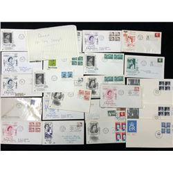CANADIAN FIRST DAY COVER LOT (VARIOUS YEARS)