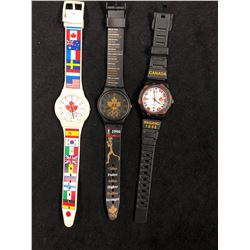 OLYMPIC SWATCH WATCH LOT