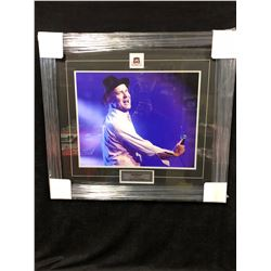"GORD DOWNIE 20"" X 24"" FRAMED COLOR PHOTO (1964-2017 ""GONE...BUT NOT FORGOTTEN"")"
