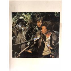 "VINTAGE STAR WARS MOVIE PHOTO (6"" X 6"")"