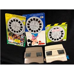 VINTAGE VIEW MASTER & REEL LOT