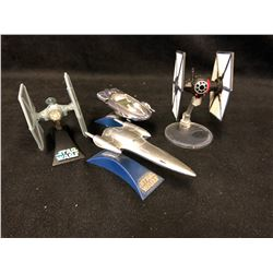 STAR WARS TITANIUM SERIES - TIE FIGHTERS + MORE