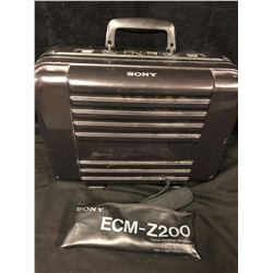 SONY ECM-Z200 (ELECTRIC CONDENSOR MICROPHONE) W/ CASE