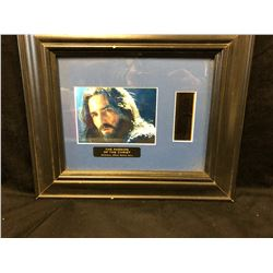 "THE PASSION OF CHRIST ORIGINAL 35MM MOVIE CELL FRAMED (14"" X 14"")"