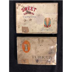 VINTAGE COLLECTIBLE TOBACCO TIN CASES
