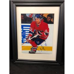 "VALERI BURE AUTOGRAPHED 12"" X 16"" FRAMED COLOR PHOTO"